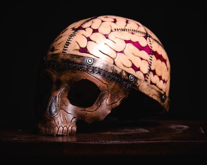 Frank's Brain Handmade Genuine Leather Mask