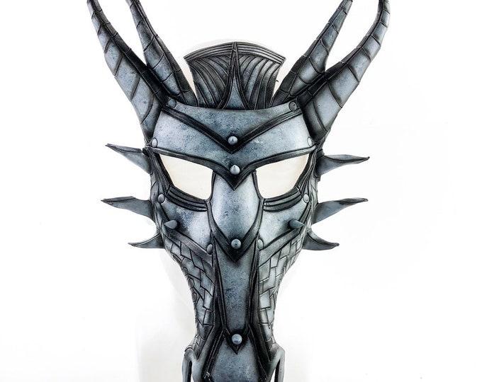 Dragon Handmade Genuine Leather Mask