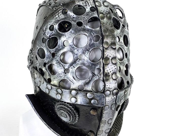 Gladiator Handmade Genuine Leather Mask