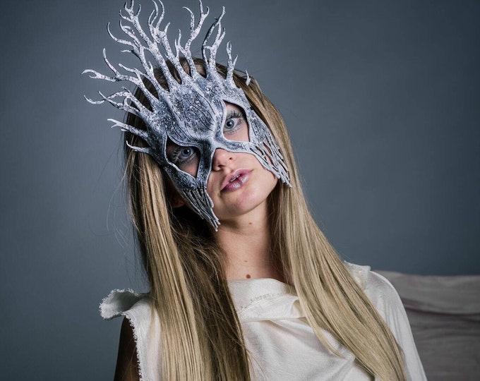 Winter - Handmade Genuine Leather Mask