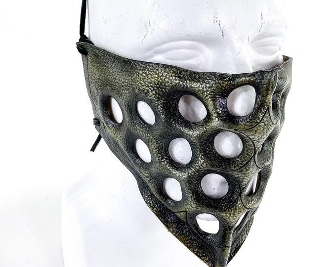 Bandana - One of a Kind Handmade Leather Mask