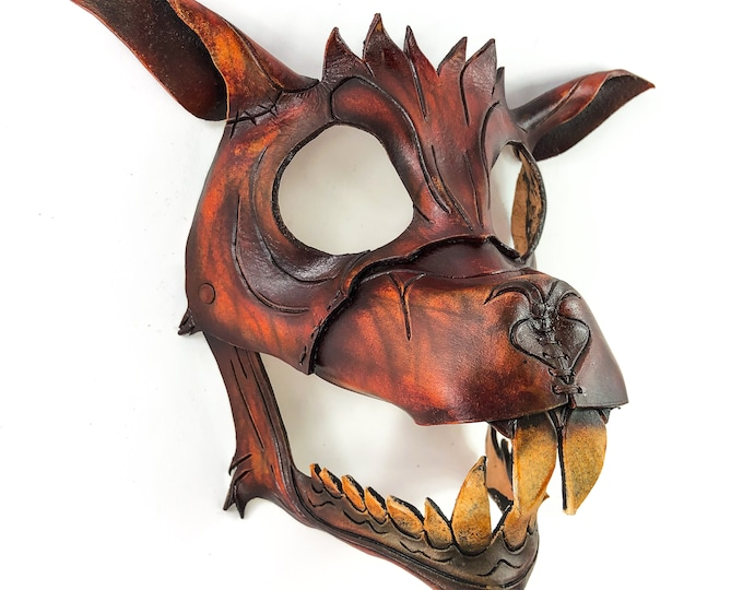 Handcrafted Genuine Leather Flying Squirrel Design