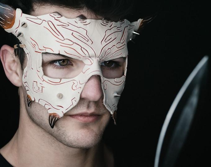 Handmade Genuine Leather Mask