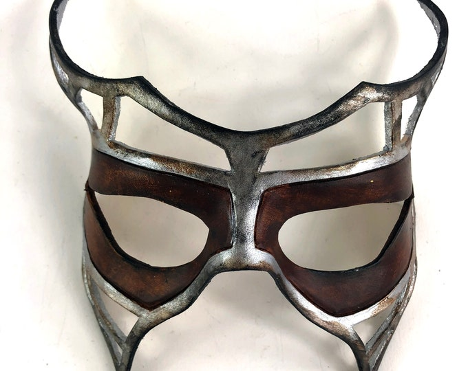 Handcrafted Genuine Leather Royal Warrior Mask
