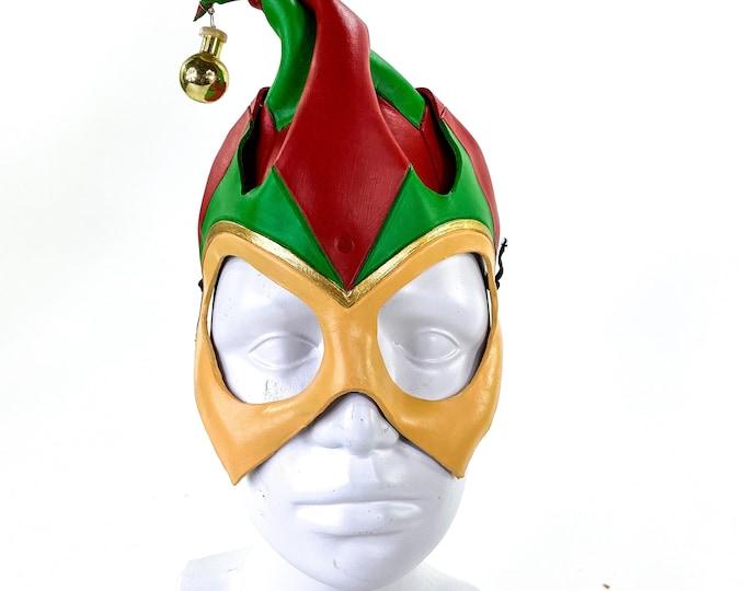 Handmade Genuine Leather Elf Mask