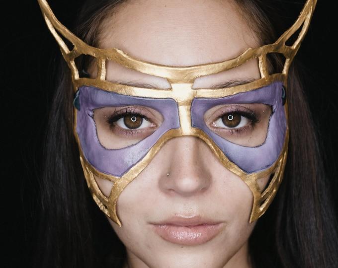 Royal Handmade Genuine Leather Mask
