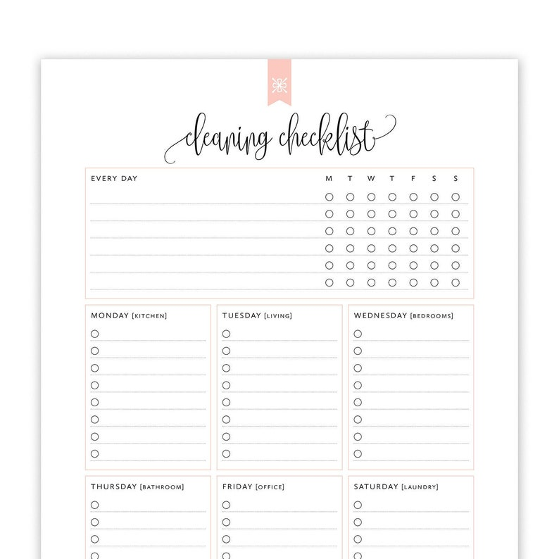 picture regarding Cleaning List Printable named Cleansing Record Printable, Editable Cleansing Record Printable, Cleansing Timetable, Household Cleansing Checklist, Property Binder, Immediate Down load