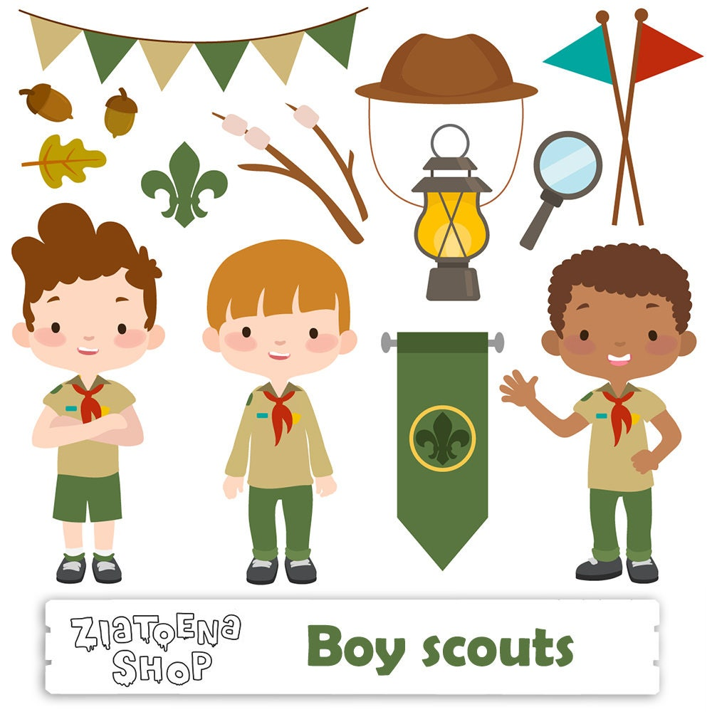 It is a graphic of Striking Cub Scout Graphics