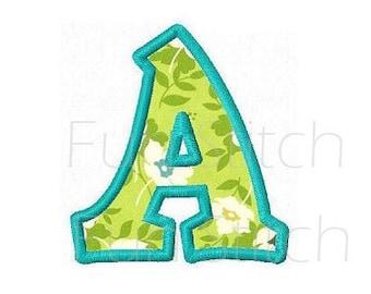 Kiddy applique font letters machine embroidery designs EM12-10038