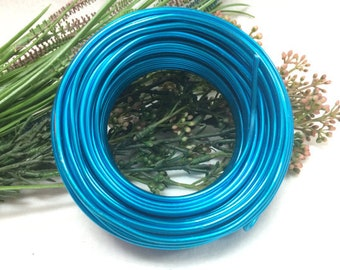 0.5 kg Artist's Choice Wholesale Aluminum Wire - 40 yards Free Shipping - 10 gauge (2.5mm) - 25 colors for choice