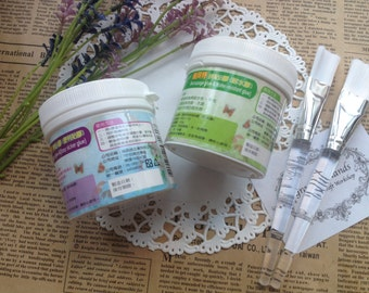 Decoupage Glue A & B Set enclosed with 2 paint brushes (Made in Taiwan)