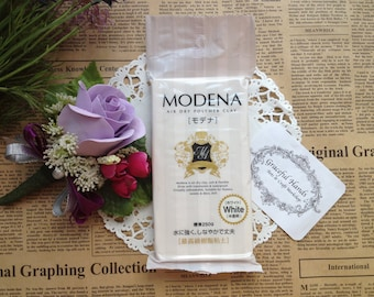 Free Shipping - Modena Resin Clay - 250g - Padico Brand (Made in Japan)
