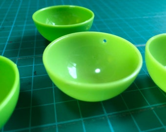 Free Shipping - Plastic Miniature Rice or Noodle Bowl for DIY Handmade Clay Food