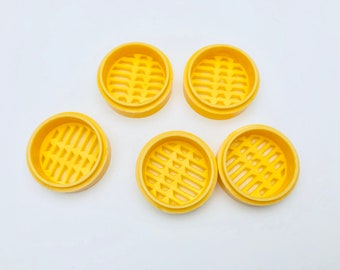 Free Shipping - Plastic Miniature Steamer Chinese Dim Sum
