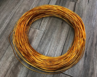 Special Promotion - 2.8 kg Artist's Choice Wholesale Aluminum Wire (Dark Gold Color) - 150 yards Free Shipping - 8 gauge (3mm)