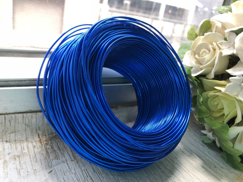 Christmas and Gardening 1.5mm Suitable for Jewellery Aluminium Artistic Wires 15 gauge Clearance Stock
