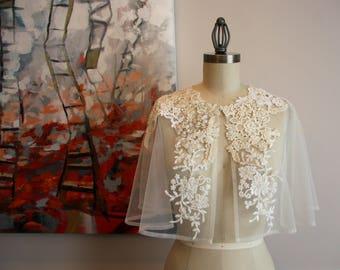 Lace Capelet - Wedding