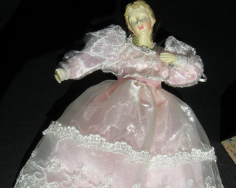 Angelic Doll Pink Lace Dress