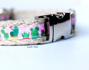 Cacti Dog Collar