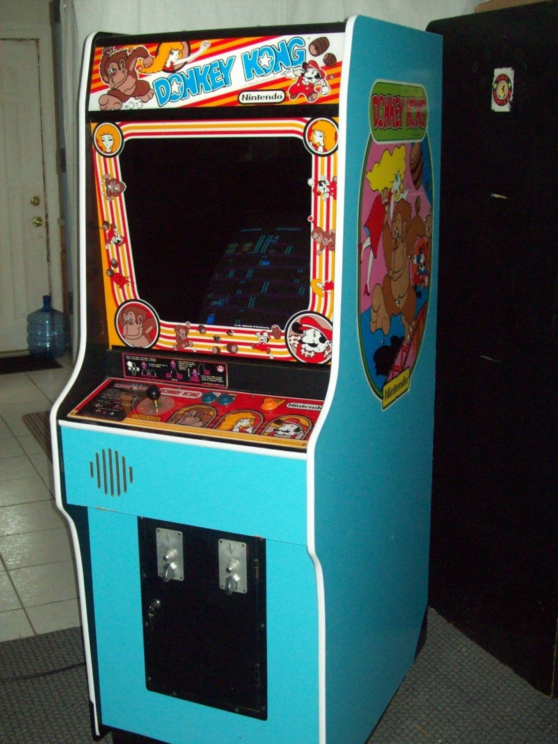 DONKEY KONG Fully Restored Original Video Arcade Game with ...