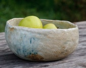 "Large Ceramic Serving Bowl, ""unearthed"" 110"