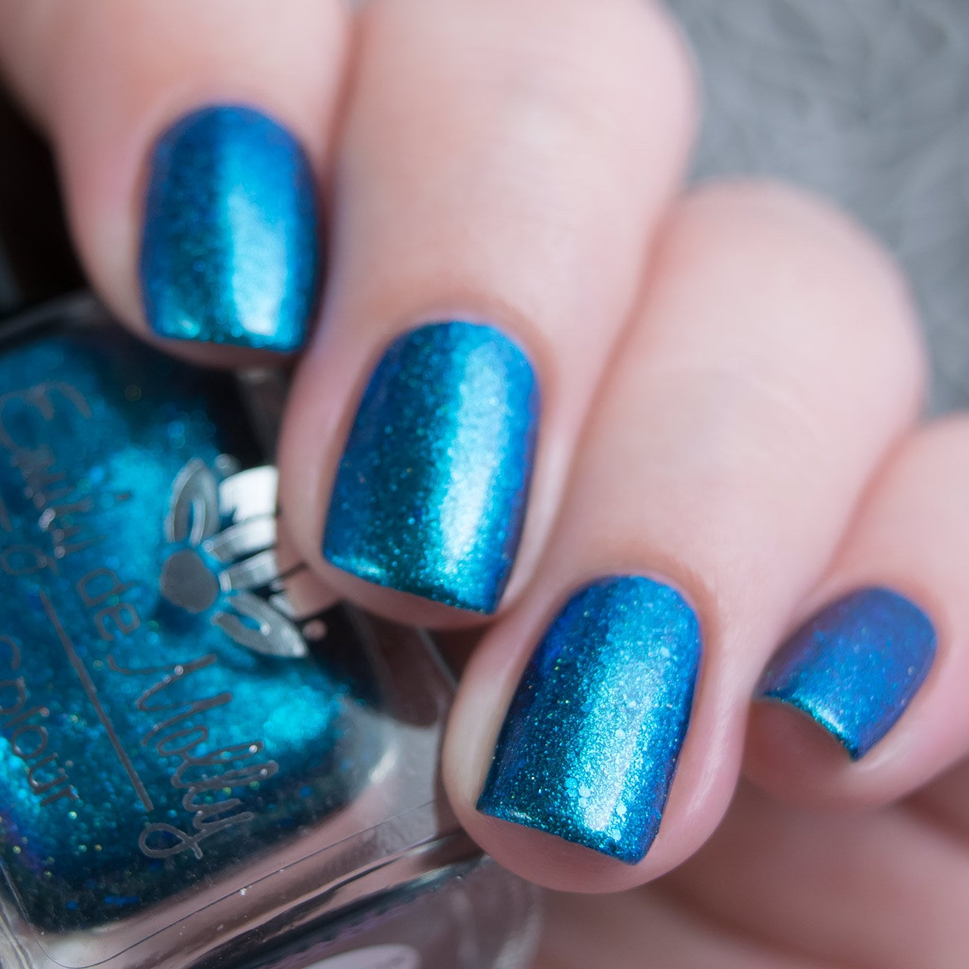 Nail Polish Collector Of Maps Green To Blue