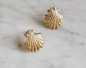 oyster earrings-FREE SHIPPING