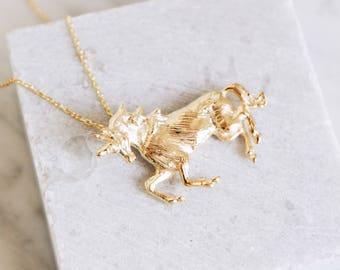 Unicorn necklace-FREE SHIPPING