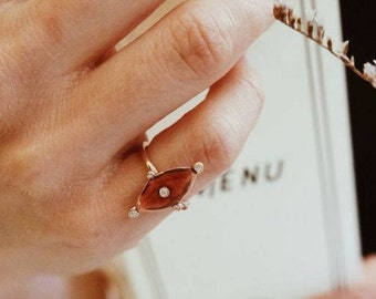 Vintage look little finger ring-FREE SHIPPING