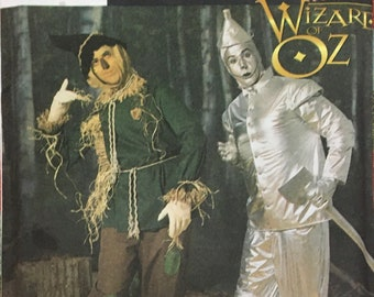 """Simplicity Wizard of Oz Scarecrow and Tinman Cosutme Fits Teen""""s or Men's Size Extra Small through Extra Large 25 Pieces Complete"""