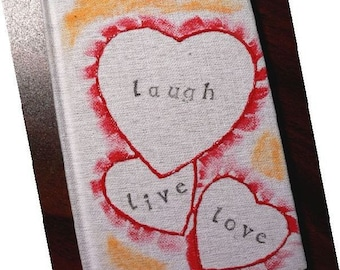 Live Laugh Love - Small Journal