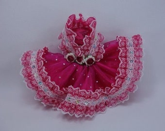 ab77e2d8724 Outfit Fun Costume Fancy Dress Fairytopia Bellerina Fairy Angel for Barbie  doll   F65