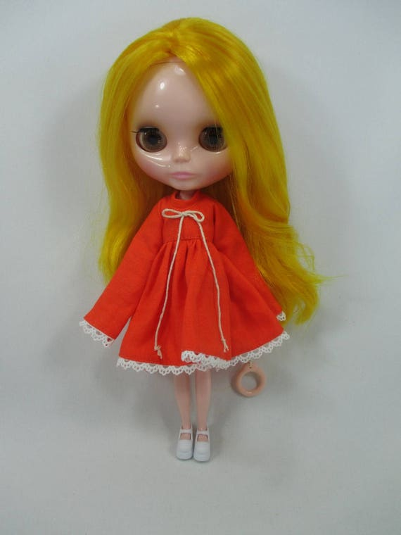 Handmade clothing fashion Basaak top blouse layer for Blythe Pullip Doll  # A-6