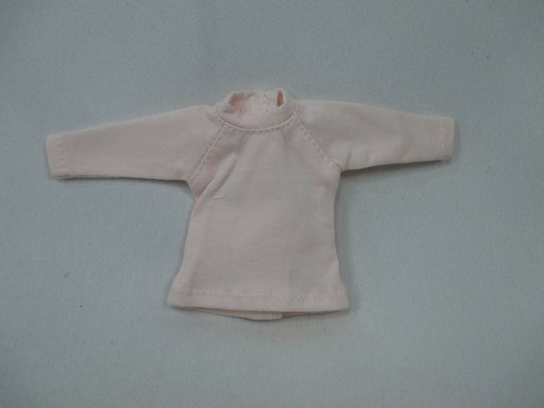 Handcrafted clothing outfit for Blythe doll long sleeve Sweater Tee shirt SD-7