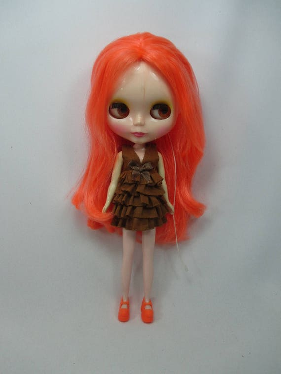 Outfit Clothing costume Handmade layers Dress for Blythe doll 820-32