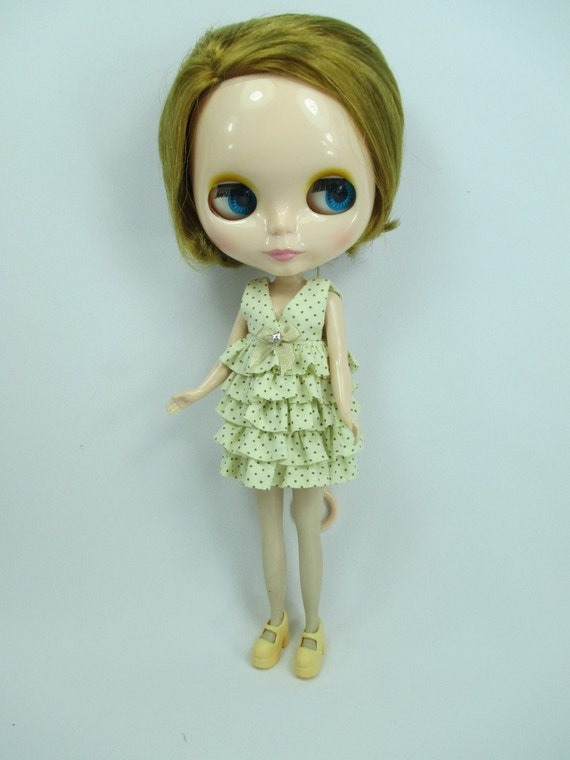 Handmade clothing fashion Basaak top blouse layer for Blythe Pullip Doll  # A-7