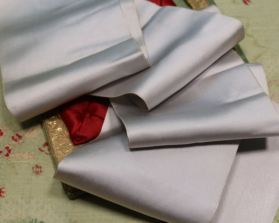 """RAYON White ribbon VINTAGE style 9//16/""""  X 5 YARDS perfect for DOLL CLOTHES"""