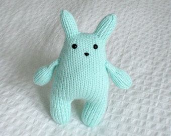 Light blue Squishy Bunny