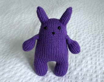 Purple Squishy Bunny