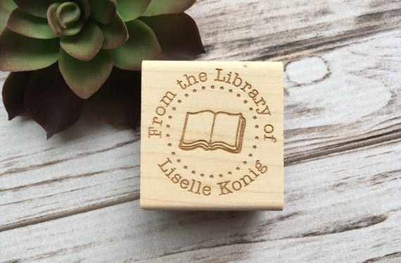 Teacher Stamp, This Book Belongs To, From the Library Of