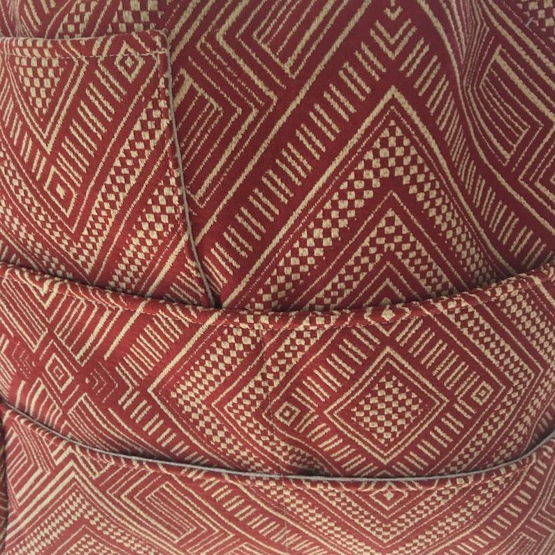 Large Project Bag, Crochet Project Bag Knitting Project Bag Southwestern Tote Shoulder Tote Southwestern Knitting Tote Priscilla#1915