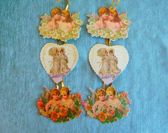 Vintage Valentines by Merrimack Publishing Co. Set of Two