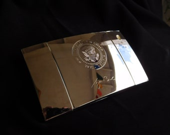 President George W. Bush Presidential Seal Desk Pen Set White House Political