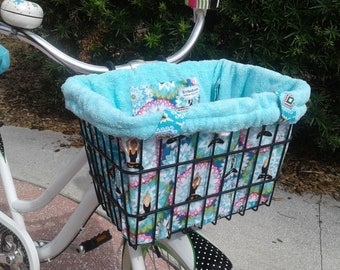 Bicycle Basket Liner Tote Bag