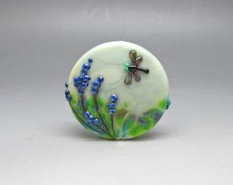 Meadow - Lampwork Focal Bead