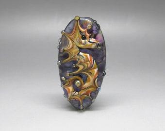 Seahorse - Lampwork Focal Bead