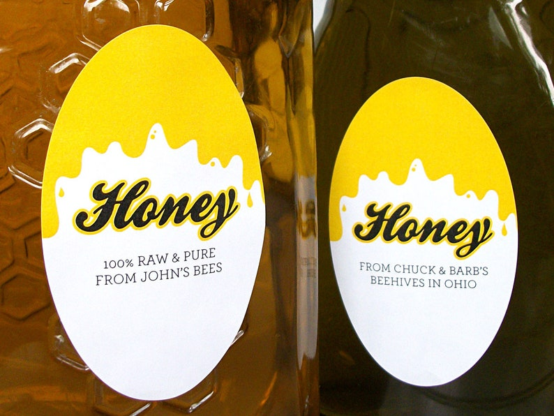 beekeeper hive honey OVAL Got BEES Sticker