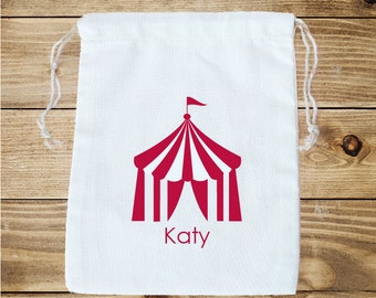Circus Personalized Favor Bag