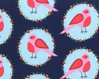 Michael Miller Front Yard Flower Bird Fabric