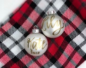 Personalized Name Ornament + In time before Christmas! + BIG SALE ! Handwritten Name Ornament + Handlettered Ornament